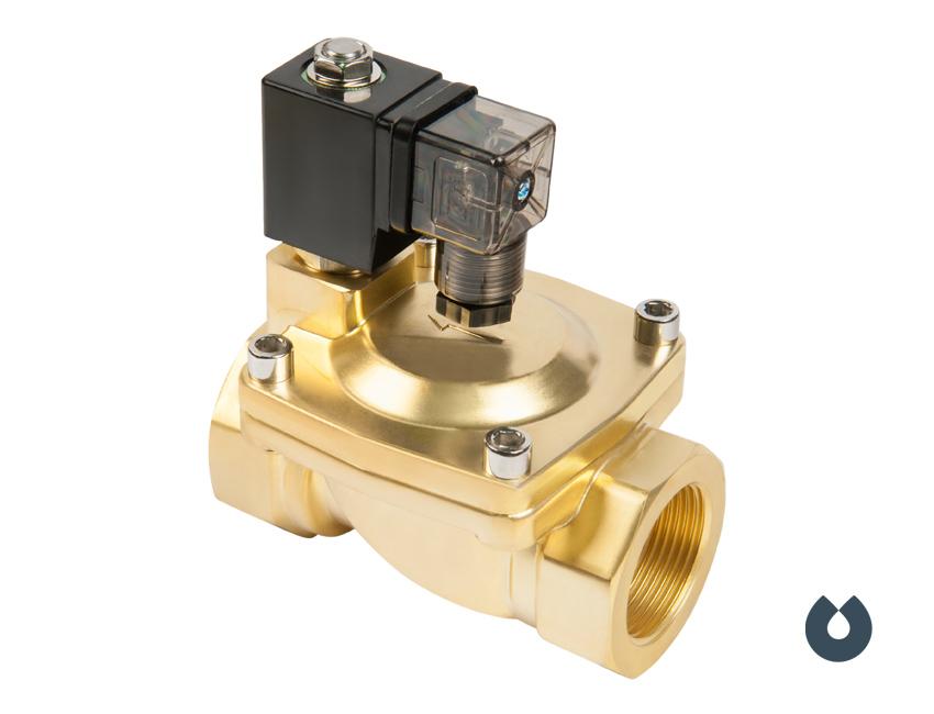 Электромагнитный клапан UNIPUMP BOX-15 1/2″ (нормально открытый)