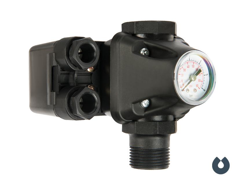 UNIPUMP PM/5-3W – реле давления со встроенным манометром