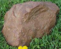 Декоративная крышка люка под камень «Люкс» D-30
