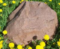 Декоративная крышка люка под камень «Люкс» D-50