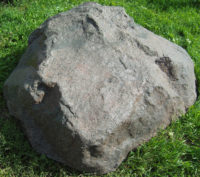Декоративная крышка септика под камень «Люкс» D-140