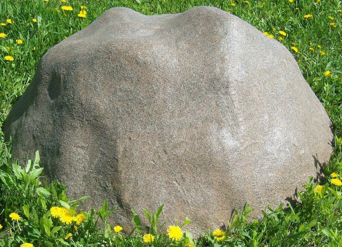 Декоративная крышка люка под камень «Стандарт» D-120