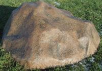 Декоративный камень крышка для септика «Стандарт» D-140